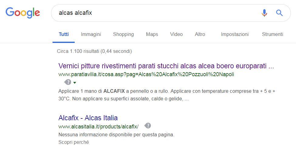indicizzazione sui motori di ricerca web creations napoli pozzuoli
